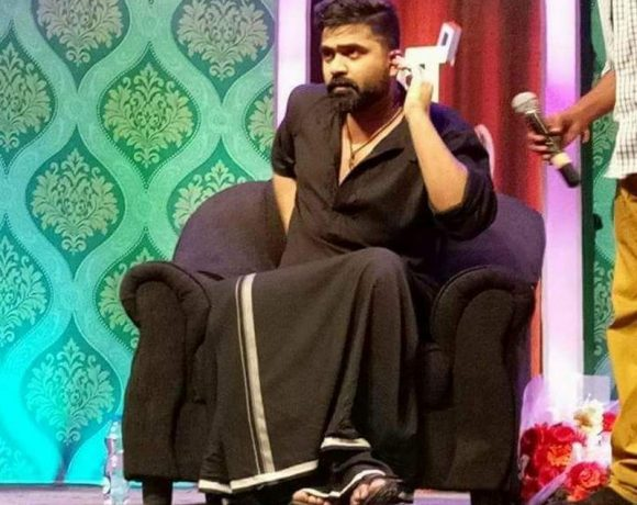 Simbu in Black Dress