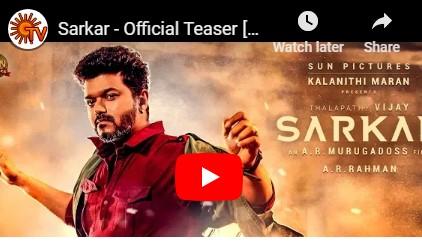 Sarkar -Teaser